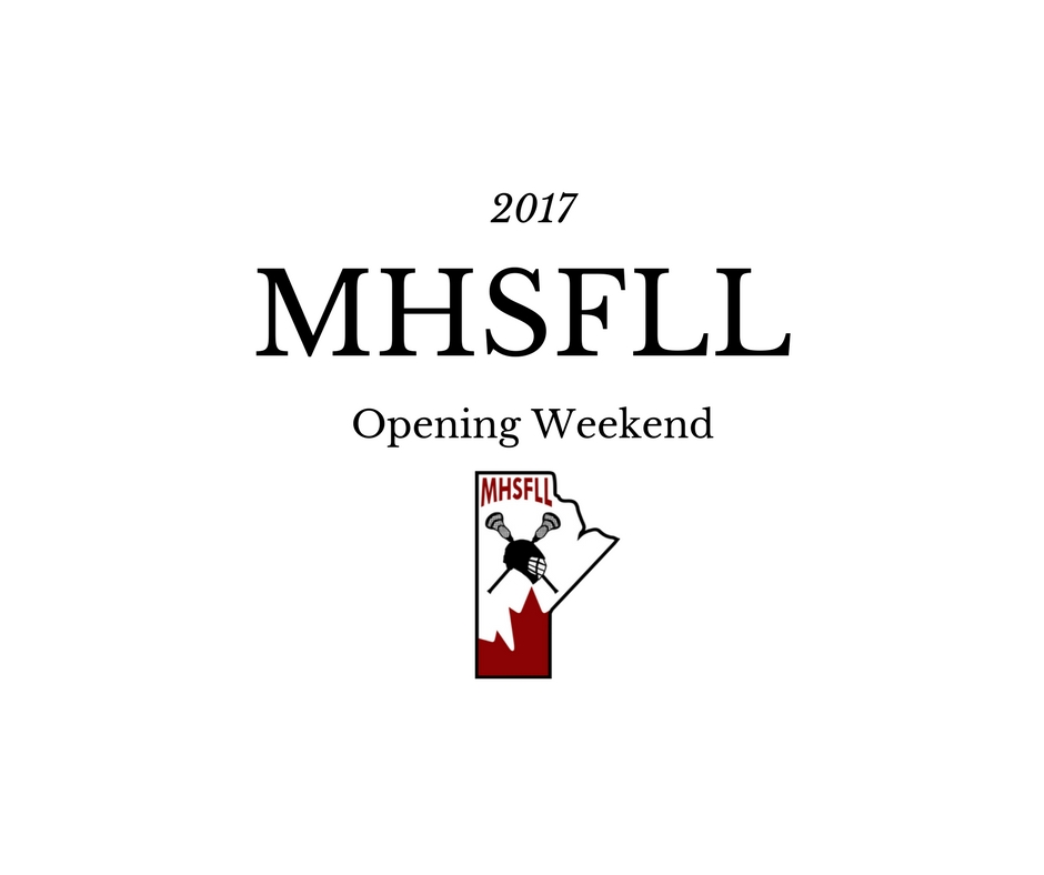 MHSFLL Opening Weekend Announced!